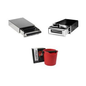 Abschlagbehälter und Sudschubladen